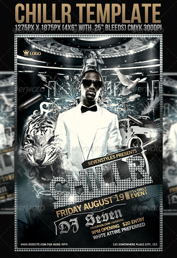 Chillr Flyer Template
