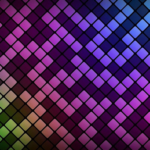 Tetris Pattern - iPad Wallpaper