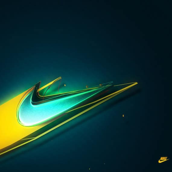 Nike Logo - iPad Wallpaper
