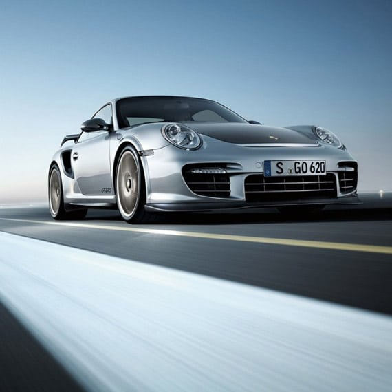 Porsche 911 Turbo - iPad Wallpaper