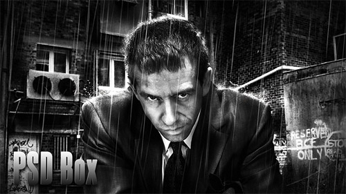 Business Man – Awesome Black & White Tutorial