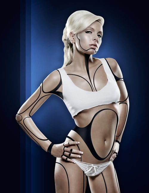 Free FanExtra Tutorial: Create A Human/Robot Hybrid In Photoshop
