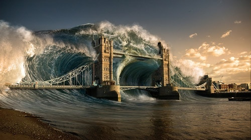 Create a Devastating Tidal Wave in Photoshop