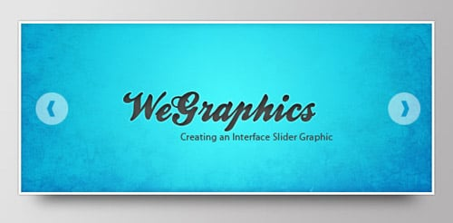 Creating an Interface Slider Graphic in Photoshop