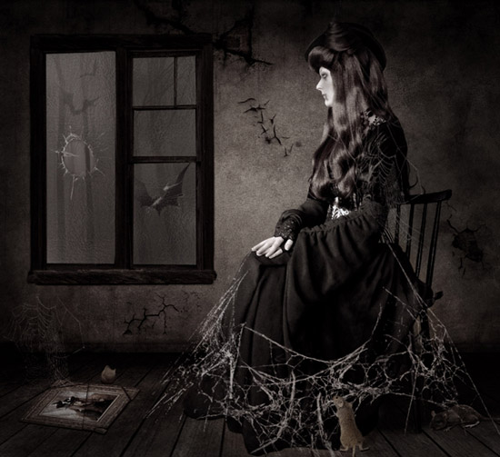 Designing the Dark Photo Manipulation 'The Forgotten'