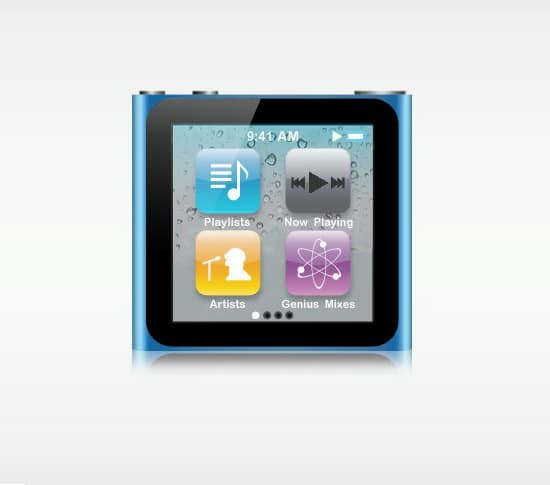 Create an iPod Nano Illustration with Photoshop