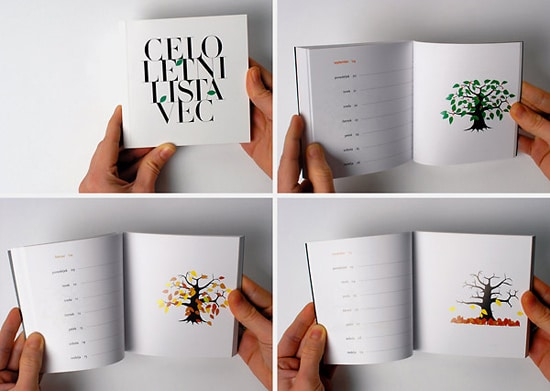 Flipbook Calendar