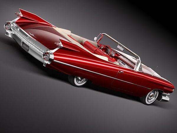 Cadillac Eldorado 62 series 1959 conve...