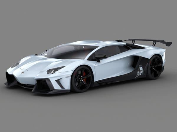 Lamborghini Aventador SV concept