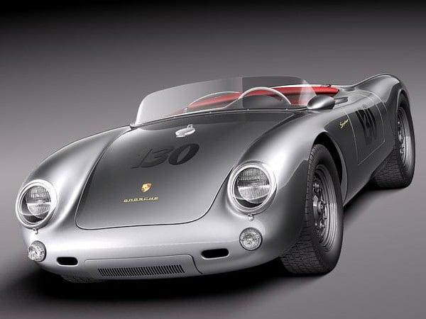Porsche Spyder 550 1955