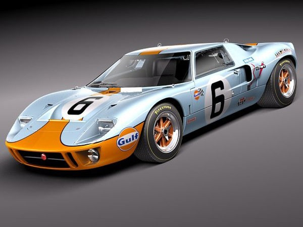 Ford GT40 1963-1969 by squir