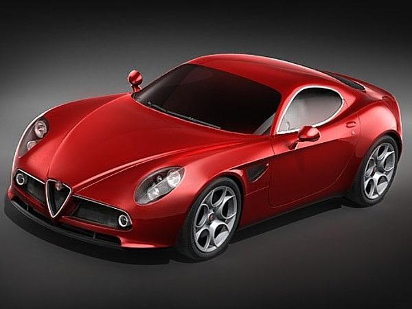 Alfa Romeo 8C Competizione MidPoly
