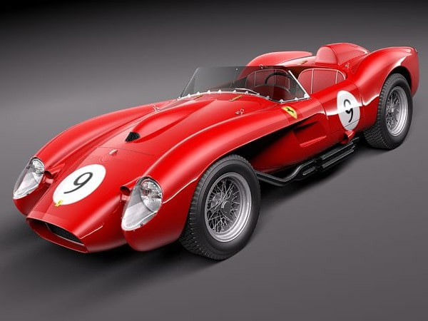 Ferrari 250 Testa Rossa 1957 by squir