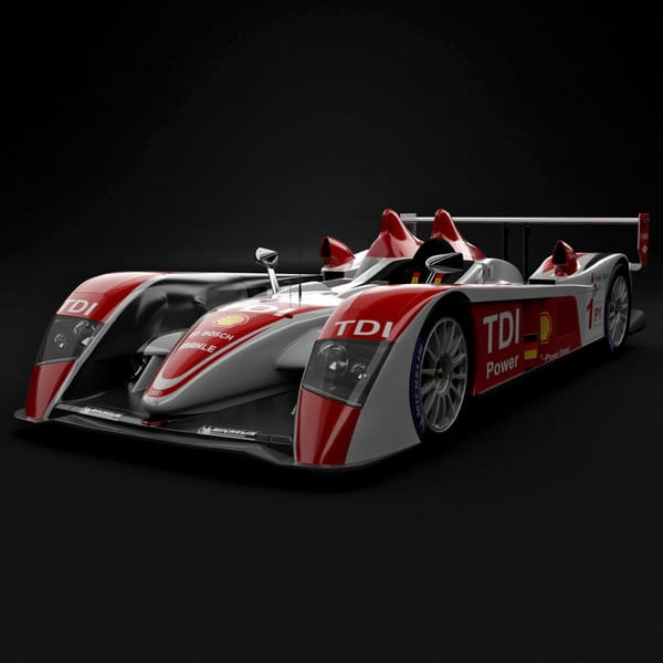 udi R10 Race Car by 3d_molier