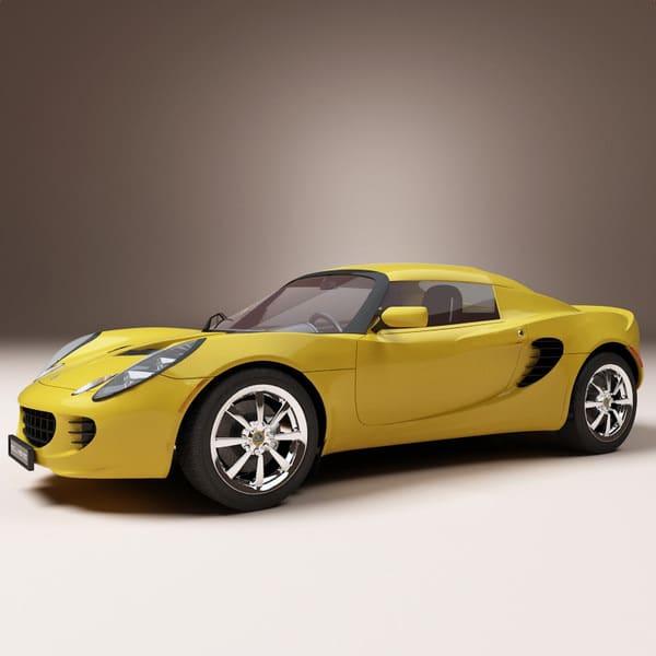 Racing car Elise