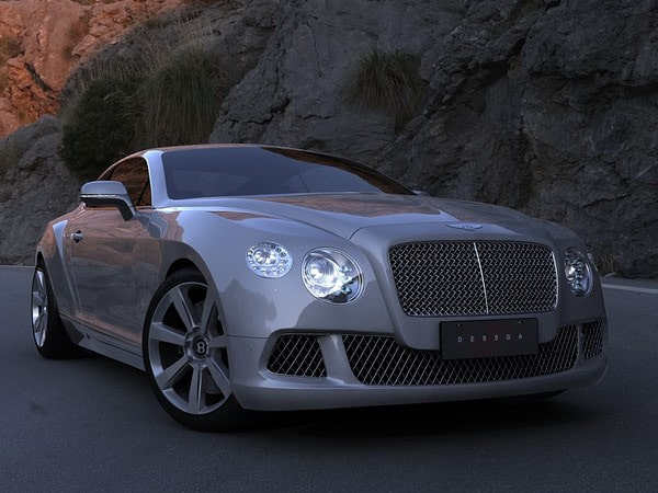 Bentley Continental GT 2012 by dessga