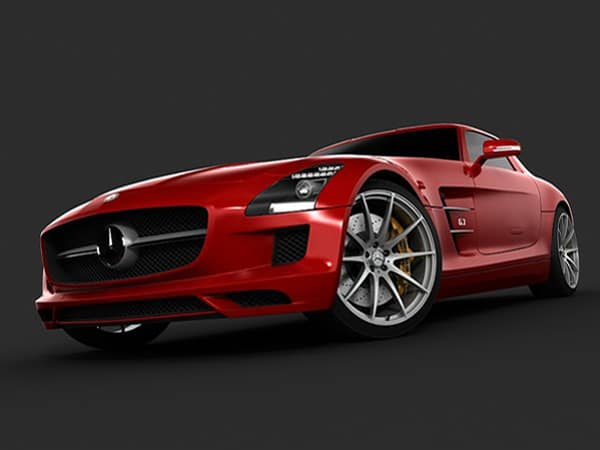 Mercedes Benz SLS AMG 2011 by dessga