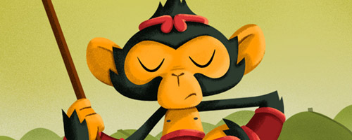 Bambino Monkey: Artist Of The Day