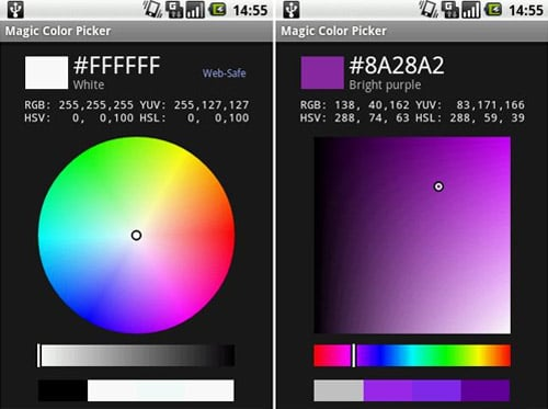 Magic Color Picker (Free on Marketplace, 4 stars)