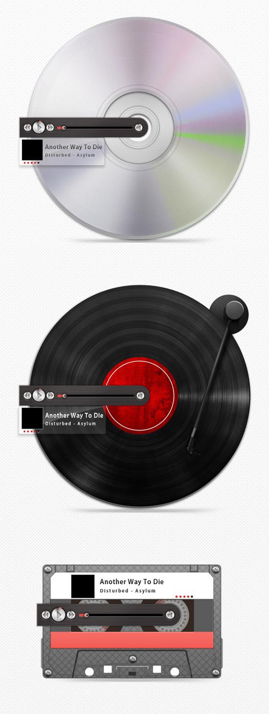 Adobe photoshop tutorials 30 creative and useful tips designrfix create 3 retro mp3 players in photoshop baditri Images