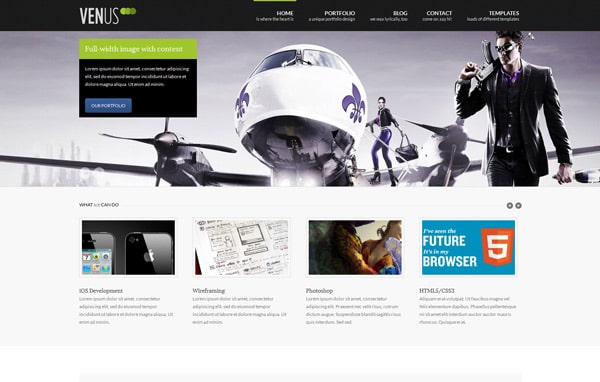 Venus: Business & Portfolio WordPress Theme