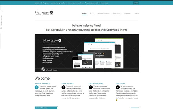 Propulsion - responsive business & eCommerce