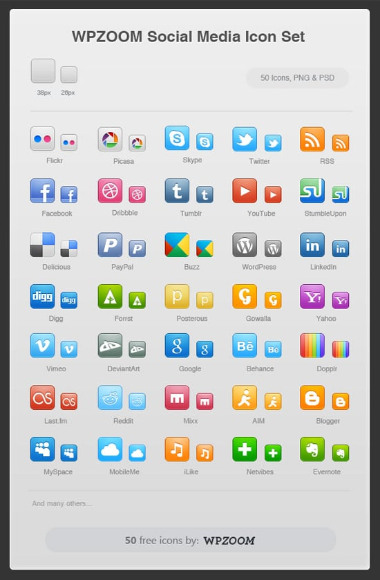 Social Icons for WPZoom by umar123
