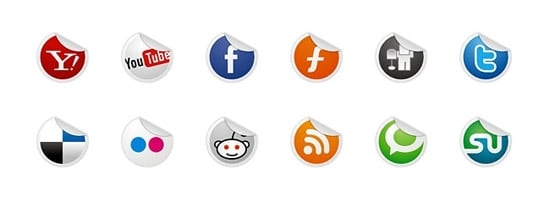 Socialize Icon Set