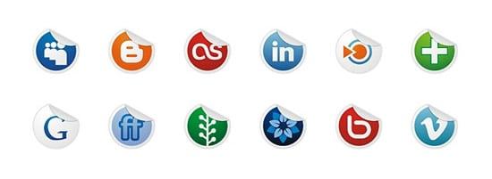 Socialize Part 2 Icon Set