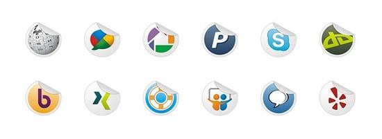 Socialize Part 3 Icon Set