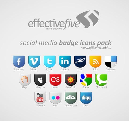 60 Gorgeous Free Social Media Icon Packs - designrfix com