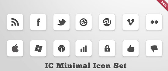 IC Minimal Icon Set by design deck