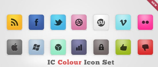 IC Colour Icon Set by design deck