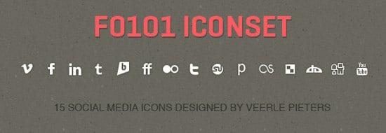 Simple & Bold Social Media Icons