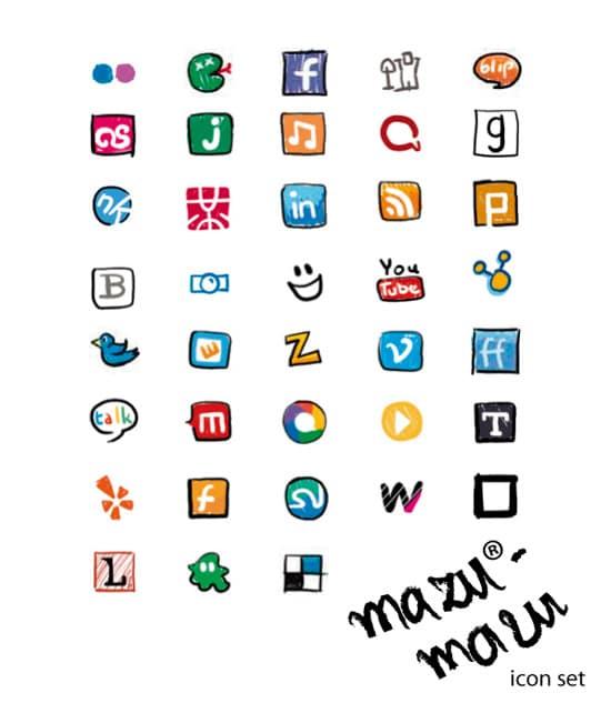 mazu-mazu ikonki by krysiaida
