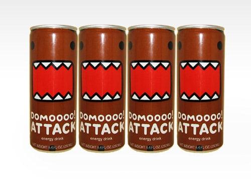 Domoooo! Attack Energy Drink