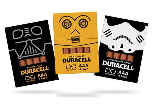 Star Wars Duracell Concept