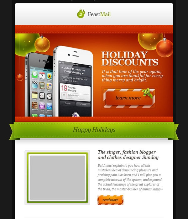 Email Newsletter Templates: 40 Hand Picked Premium Designs
