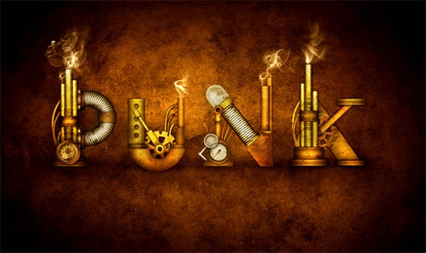 How to Create a Steampunk Type Treatment in Photoshop