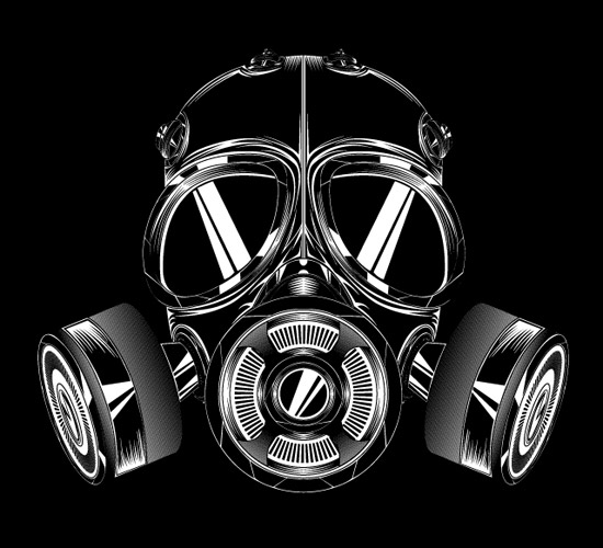 Create a Badass Gas Mask in Illustrator