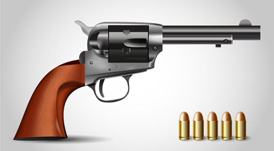 How to Illustrate a Handgun Using Adobe Illustrator