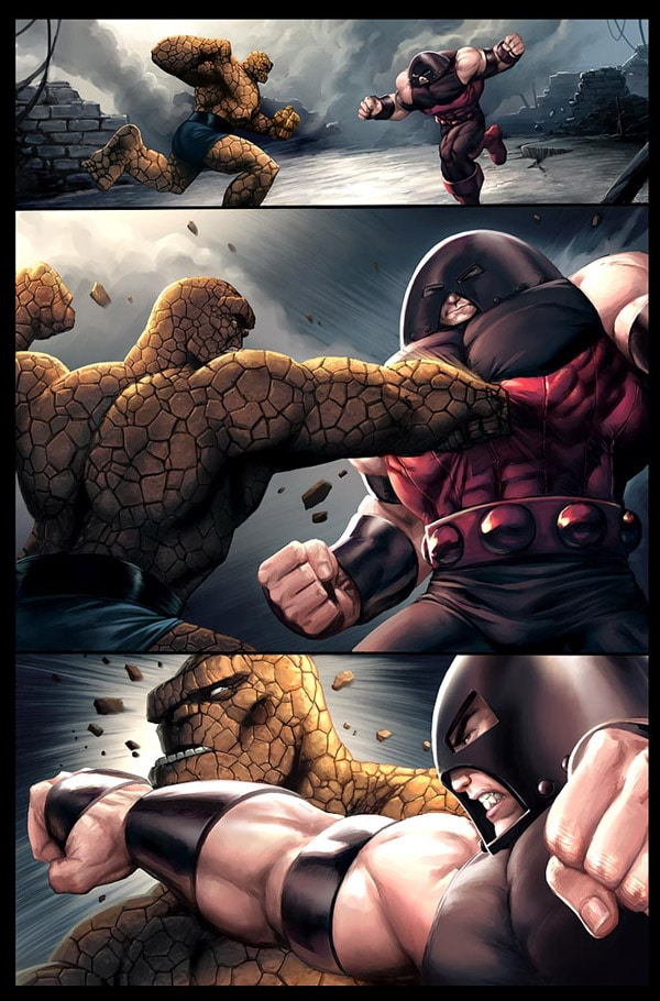 Thing vs Juggernaut page
