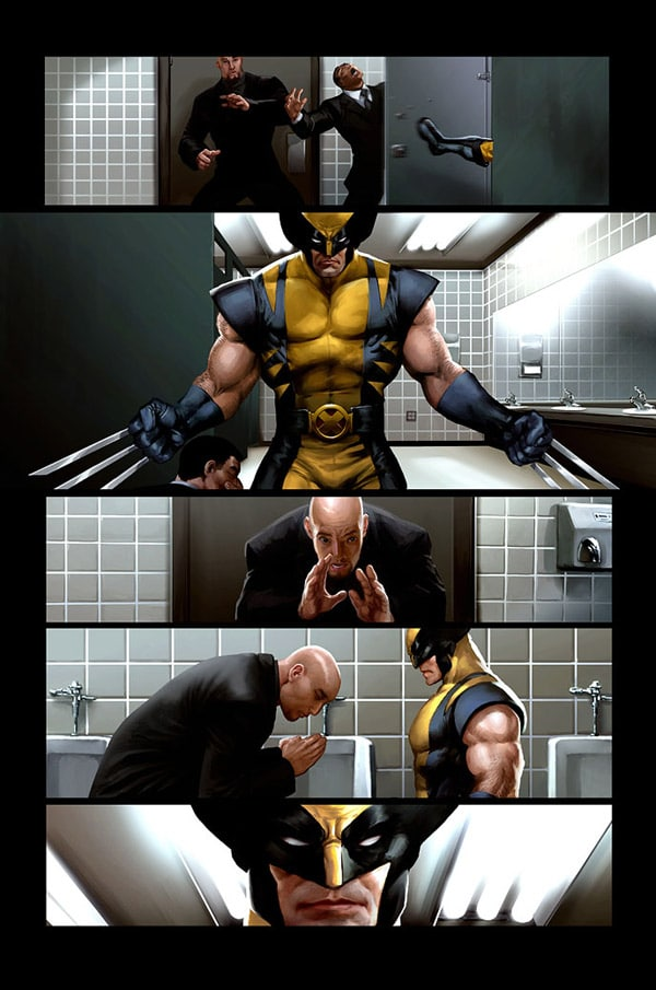 Wolverine page 6