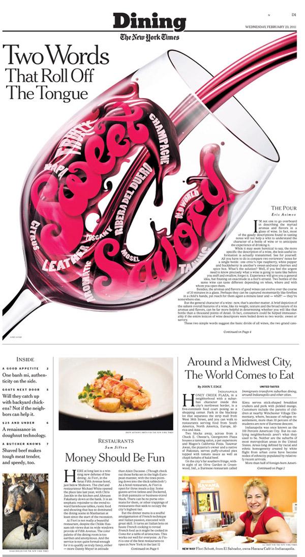 NY Times – Sweet & Savory