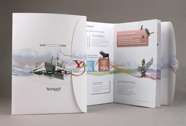 brochure design 50 brilliant layouts