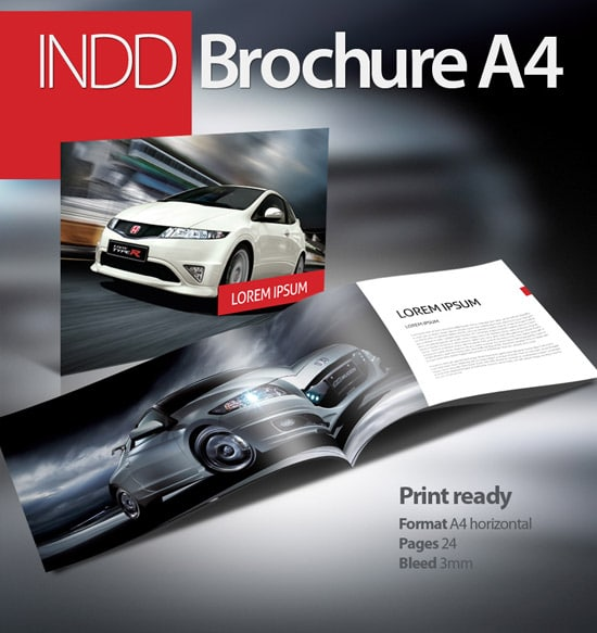 brochure booklet a4