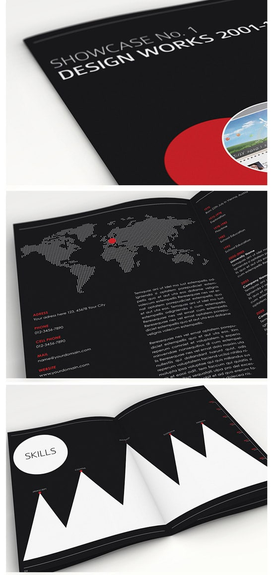 Showcase No. 1 - Brochure & Book Template