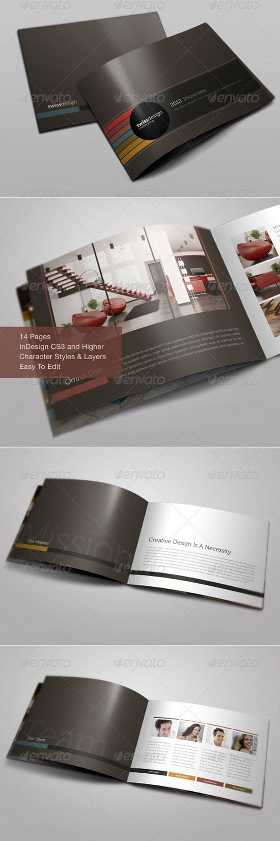 Print Templates - Bifold Brochure | Volume 5