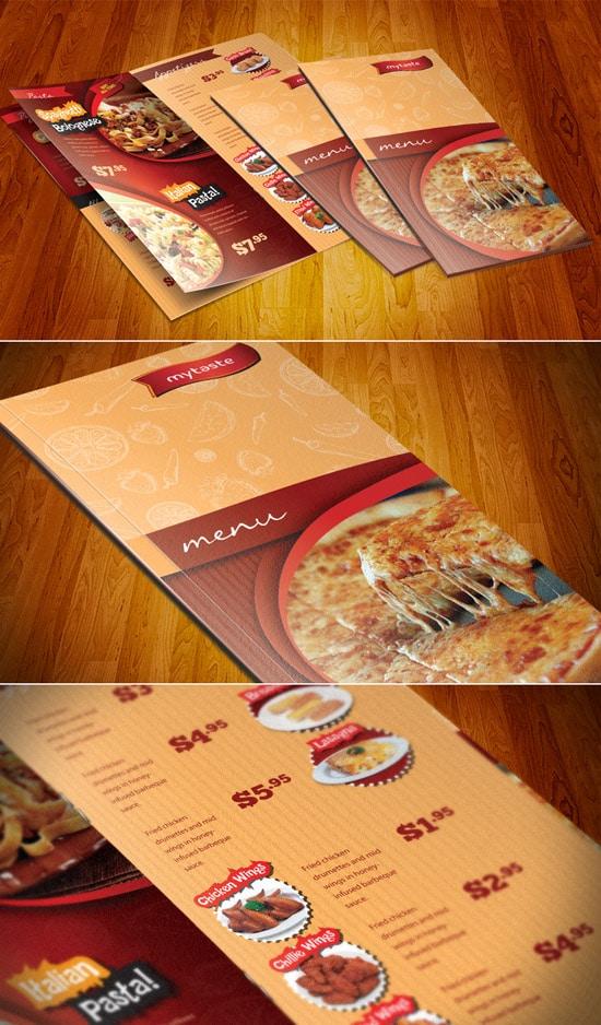 Universal Menu Restaurant - Brochures