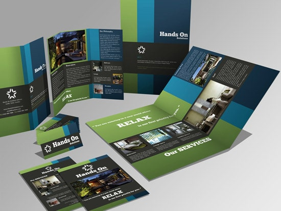Brochure + Trifold + Flyer + Business Card Set
